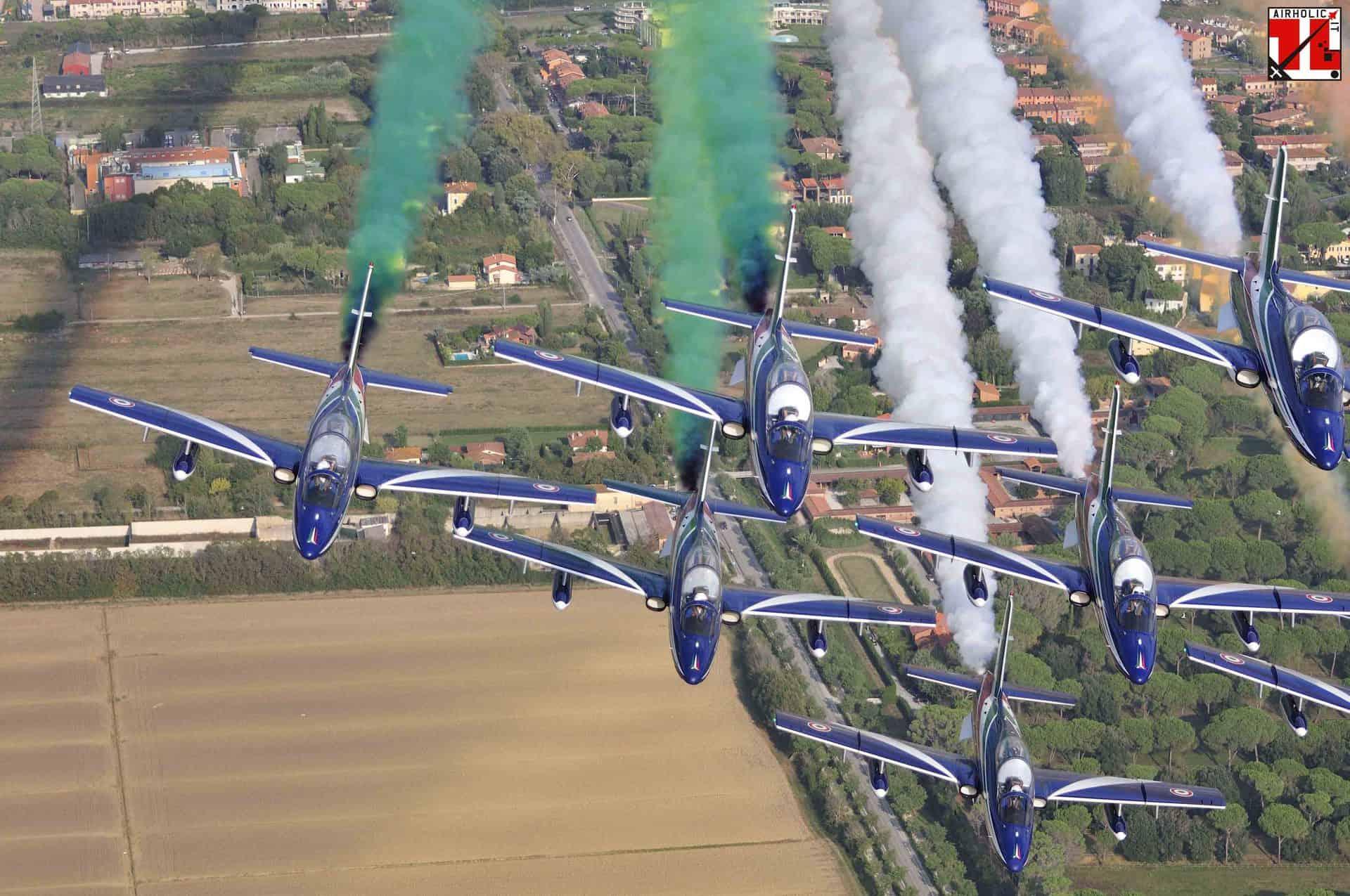 CALENDARIO MANIFESTAZIONI FRECCE TRICOLORI 2020   Airholic.it
